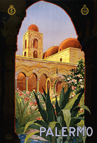 Sicily Painting - Palermo, Sicily, Italy by Long Shot