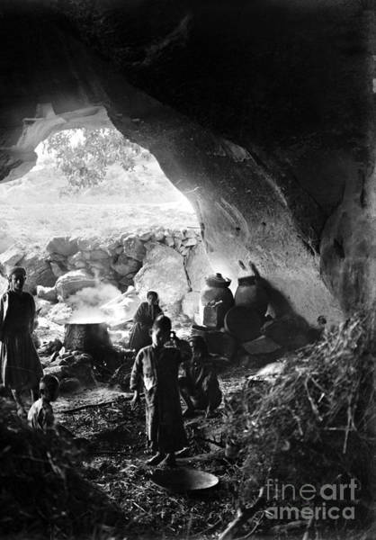 Photograph - Palestine: Cave Dwelling by Granger