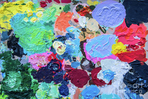 Wall Art - Photograph - Palette by Delphimages Photo Creations