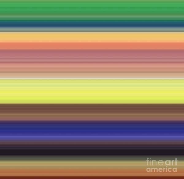 Wall Art - Digital Art - palette II by Alex Caminker