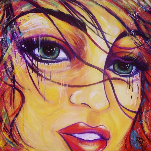 Wall Art - Painting - Palette Storm by Debi Starr