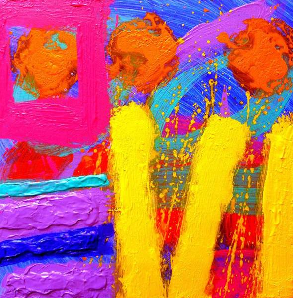 Abstract Expressionism Wall Art - Painting - Palimpsest Ix by John  Nolan
