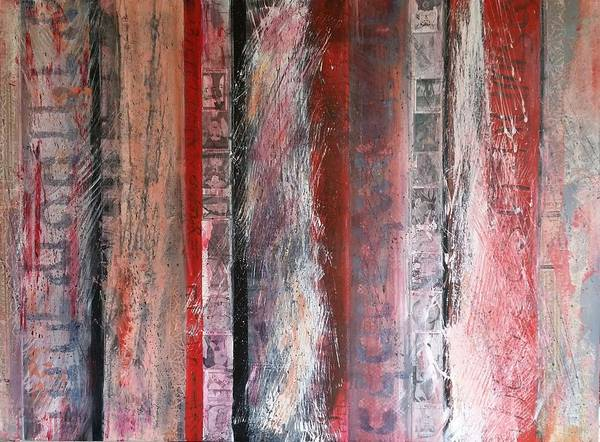 Painting - Palimpsest by Jillian Goldberg