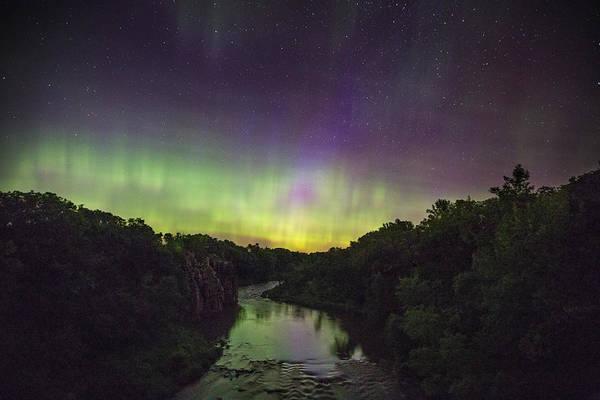 Photograph - Palisades Aurora by Aaron J Groen