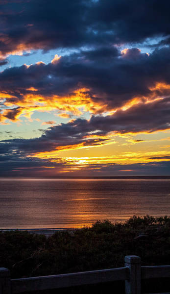 Photograph - Palisades Bluffs At Sunset by Gene Parks