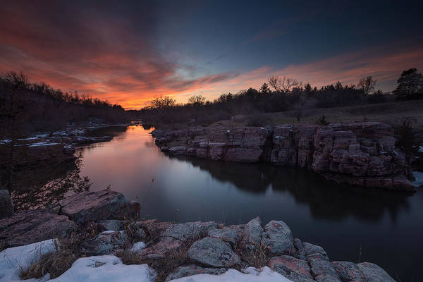 Photograph - Palisades Dusk by Aaron J Groen