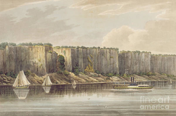 Wall Art - Painting - Palisades by William Guy Wall