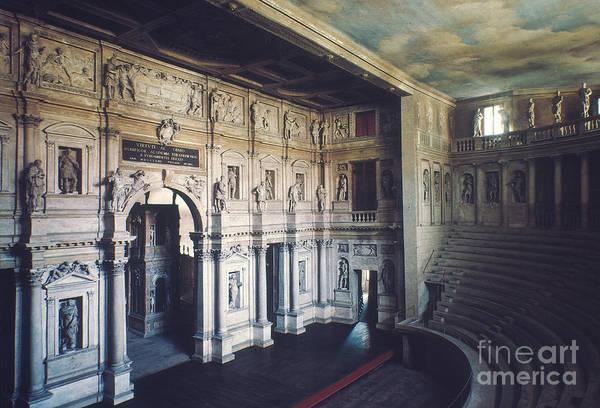 Photograph - Palladio: Teatro Olimpico by Granger