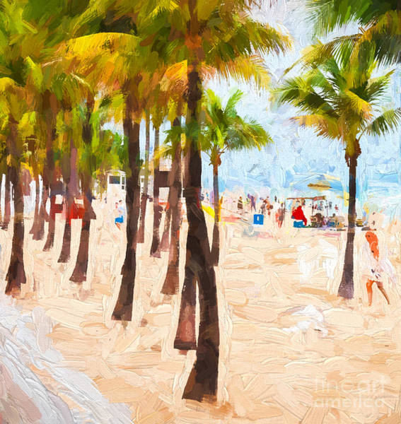 Photograph - Palm Beach by Les Palenik