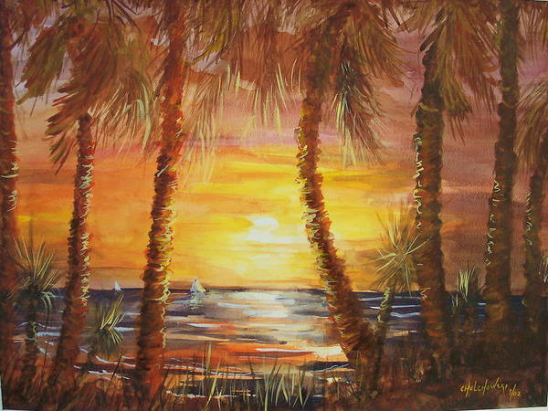 Palm Beach Art Print
