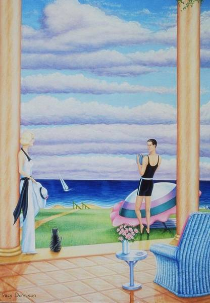 Painting - Palm Beach by Tracy Dennison