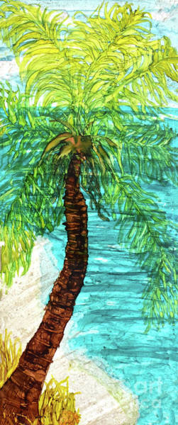 Painting - Palm Fun by Christine Dekkers