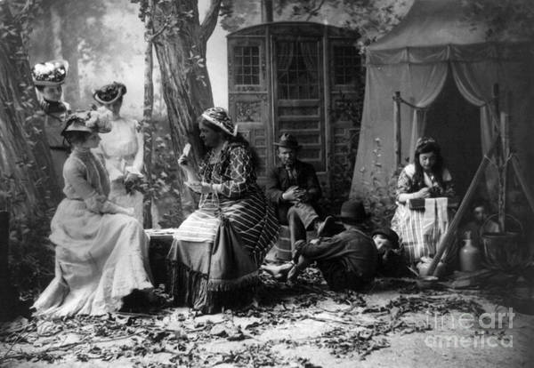 Wall Art - Photograph - Palm Reading, C1902 by Granger
