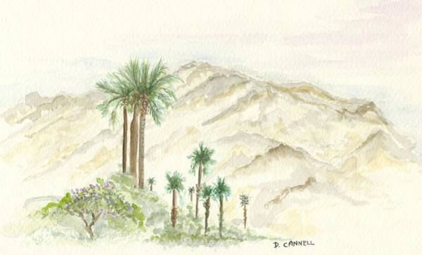 Painting - Palm Springs by Darren Cannell