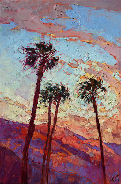 Wall Art - Painting - Palm Springs by Erin Hanson