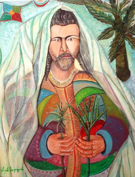 Wall Art - Painting - Palm Sunday by Angelo Ingargiola