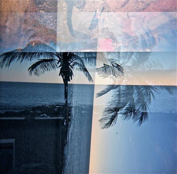 Wall Art - Photograph - Palm Tree Sunset, Canary Lines by Rika Maja Duevel
