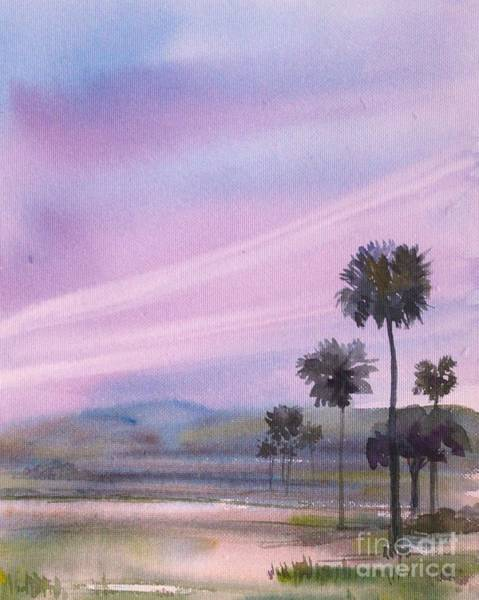 Painting - Palm Trees by Asha Sudhaker Shenoy