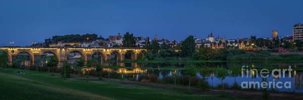 Photograph - Palmas Bridge Badajoz Spain by Pablo Avanzini