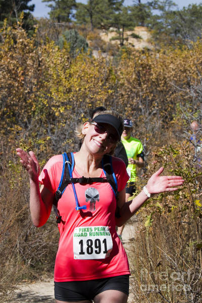 Photograph - Palmer Park And Pikes Peak Road Runners Fall Series IIi Race by Steve Krull