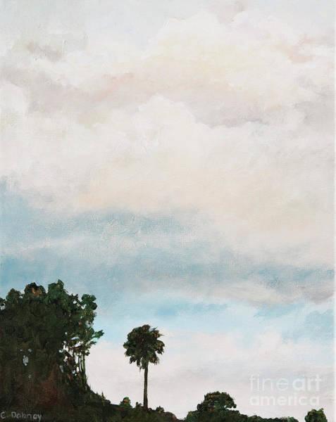Palmetto Dawn  Art Print by Carla Dabney