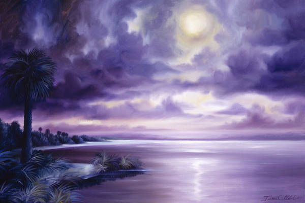 Palmetto Moonscape Art Print