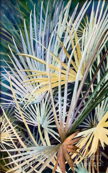 Painting - Palms   Original by Sandy Brindle