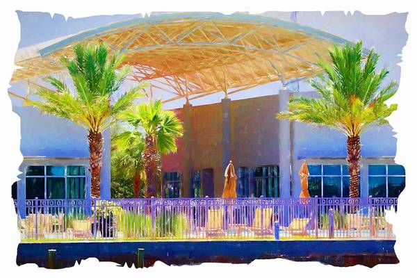Photograph - Palms By The Pool by Alice Gipson