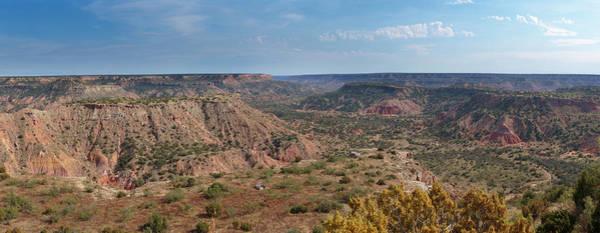 Photograph - Palo Duro Canyon Panorama by Susan Rissi Tregoning