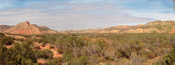 Photograph - Palo Duro Canyon Valley by Susan Rissi Tregoning
