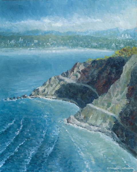 Painting - Palos Verdes Autumn Morning, No. 1 by Douglas Castleman