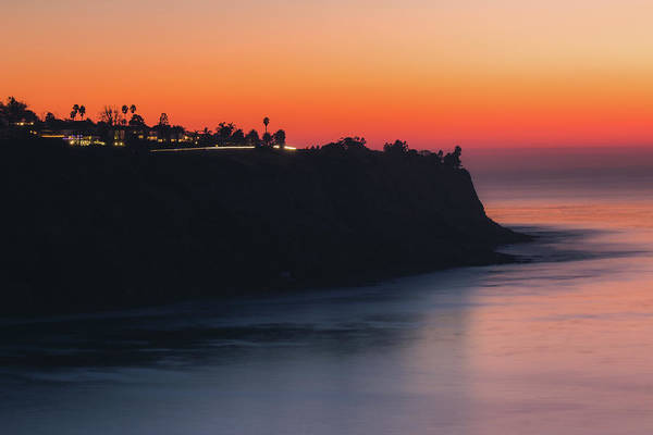 Palos Verdes Coast After Sunset Art Print