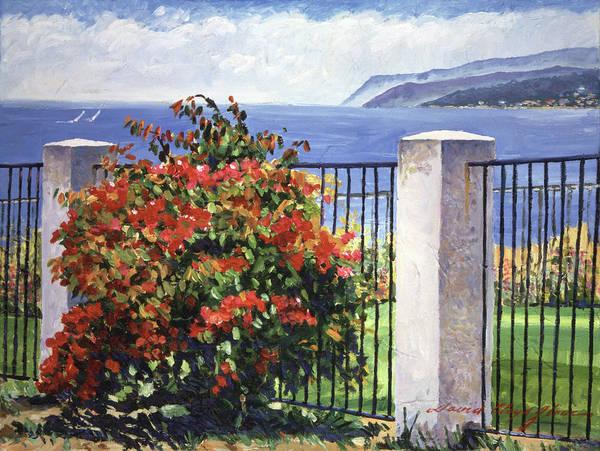 Painting - Palos Verdes Shore  by David Lloyd Glover