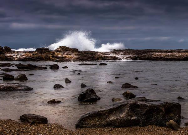 Photograph - Palos Verdes Surf by Ed Clark