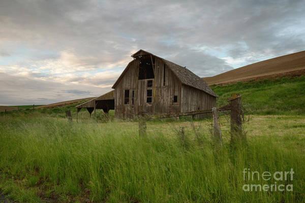 Wall Art - Photograph - Palouse Barn Spring by Idaho Scenic Images Linda Lantzy