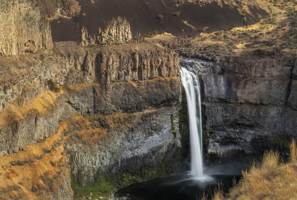 Photograph - Palouse Falls And Castle Rock by Loree Johnson