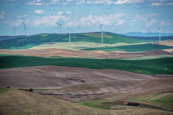 Wall Art - Photograph - Palouse Scenery by Paul Freidlund