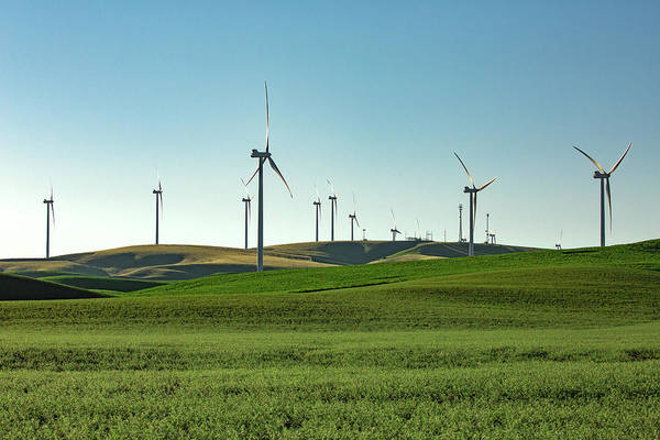 Wind Farm Photograph - Palouse Wind by Todd Klassy