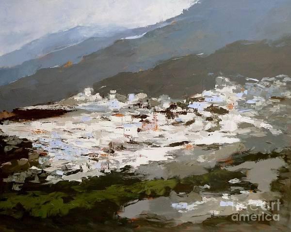 Painting - Pampaneira Alpujarras by Karina Plachetka