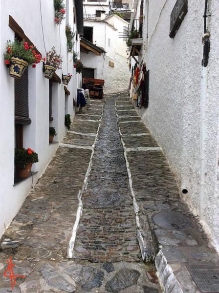 Photograph - Pampaneira Street Spain  by Colette V Hera  Guggenheim