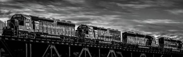 Photograph - Pan Am Railways 618 616 609 by Bob Orsillo