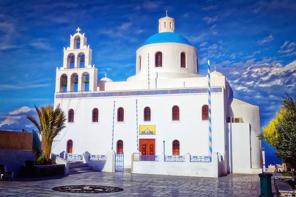 Photograph - Panagia Of Platsani Church by Adam Rainoff