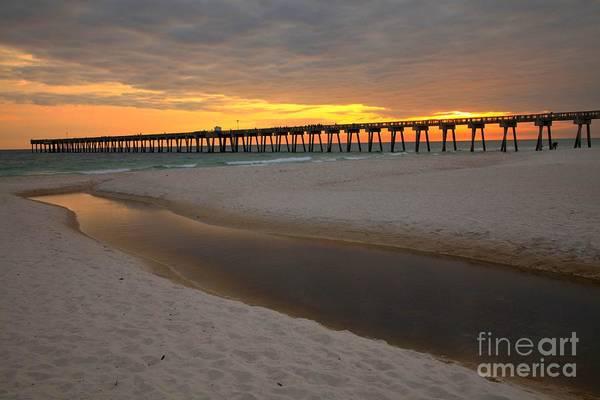 Photograph - Panama City Beach Pier by Adam Jewell