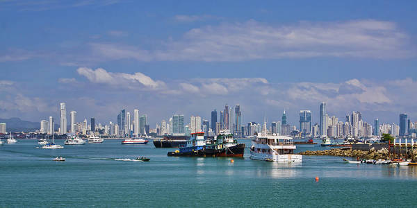 Photograph - Panama City Panama Skyline by Tatiana Travelways