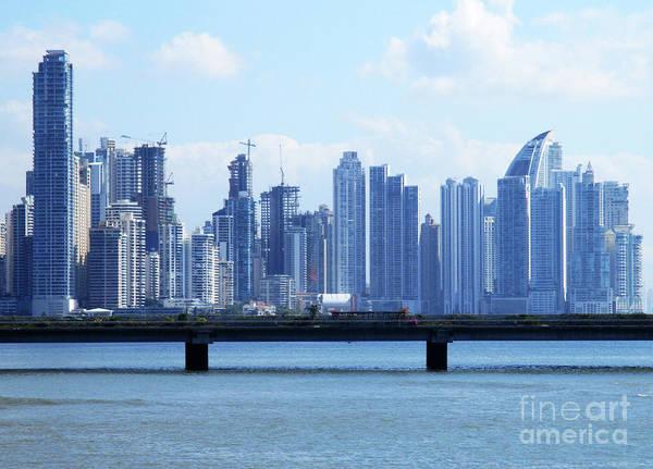 Wall Art - Photograph - Panama City Skyline 1 by Randall Weidner