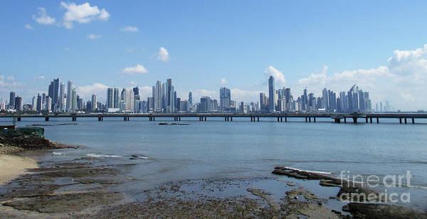 Wall Art - Photograph - Panama City Skyline 3 by Randall Weidner