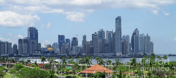 Wall Art - Photograph - Panama City Skyline 5 by Randall Weidner