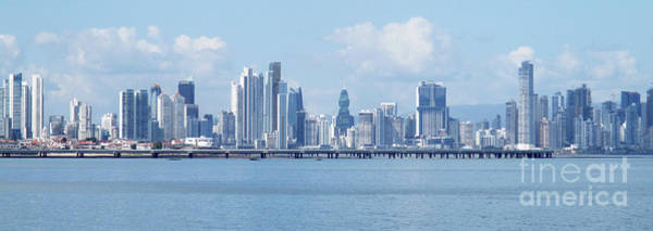 Wall Art - Photograph - Panama City Skyline 6 by Randall Weidner