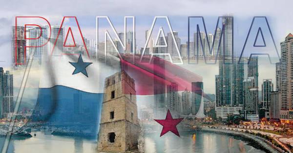 Panama Digital Art - Panama Scenery by Rodolfo Cordoba
