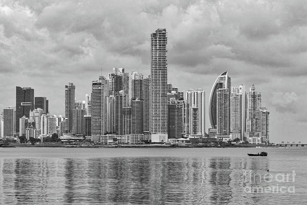 Photograph - Panama Skyline by Ana V Ramirez